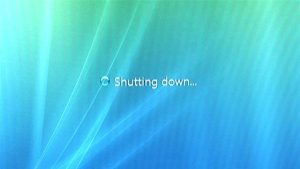 windows shutdown