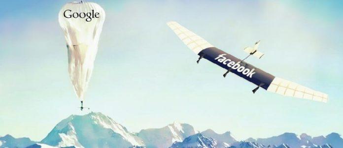 Facebook drone VS Project loon