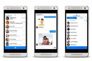 Facebook Messenger UI