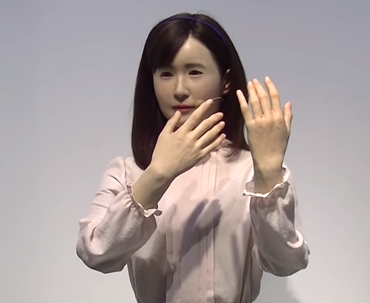 Toshiba's New Robot Can Speak in Sign Language