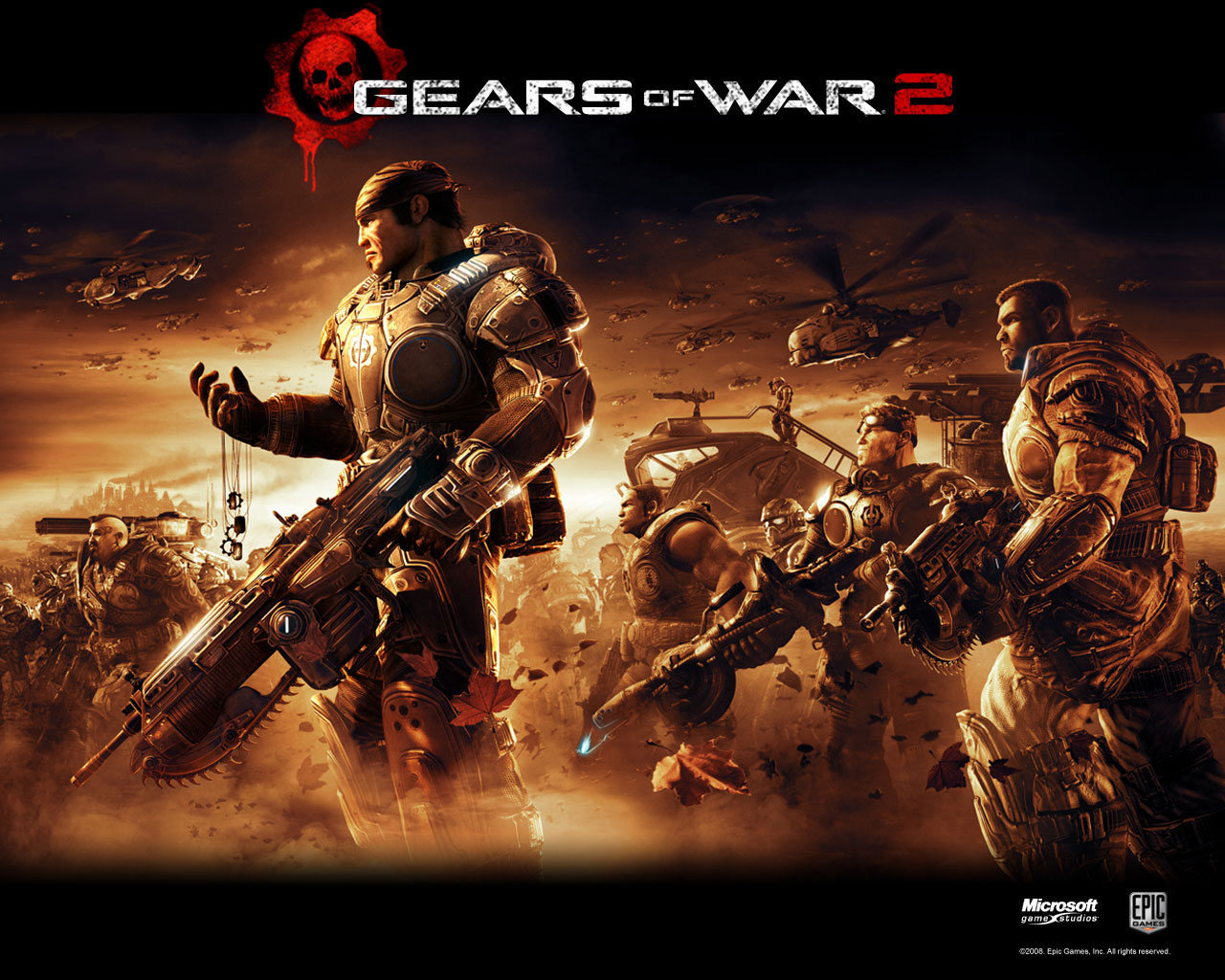 Best Addictive XBOX 360 game  Gears of War 2