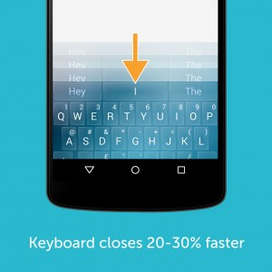 Swiftkey App 5.1-Speed keyboard quiting