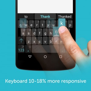 Swiftkey App 5.1 Speed responsiveness