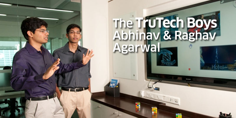 TruTech Boys, Raghav and Abhinav