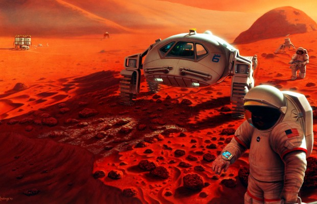 Method Discovered To Produce Breathable Air on Mars