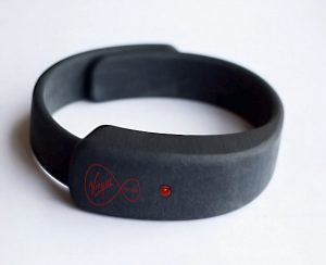 KipstR wristband by virgin media