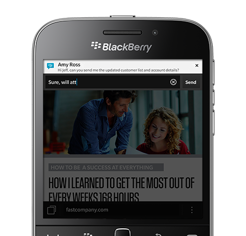 Features of BlackBerry Classic 1