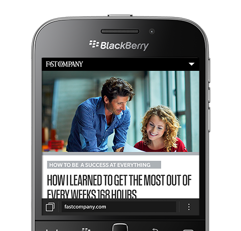 Features of BlackBerry Classic 5