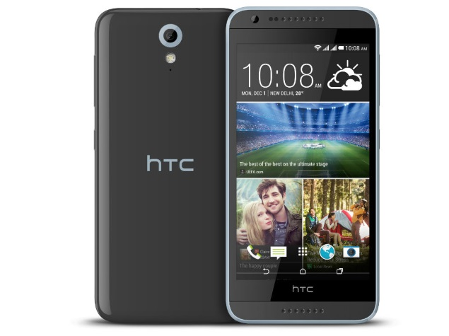 HTC Desire 620G Dual SIM in India