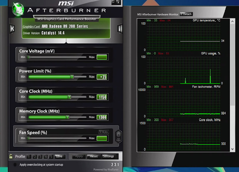 GeForce GTX 1080 Overclocking Guide With AfterBurner 4.3.0