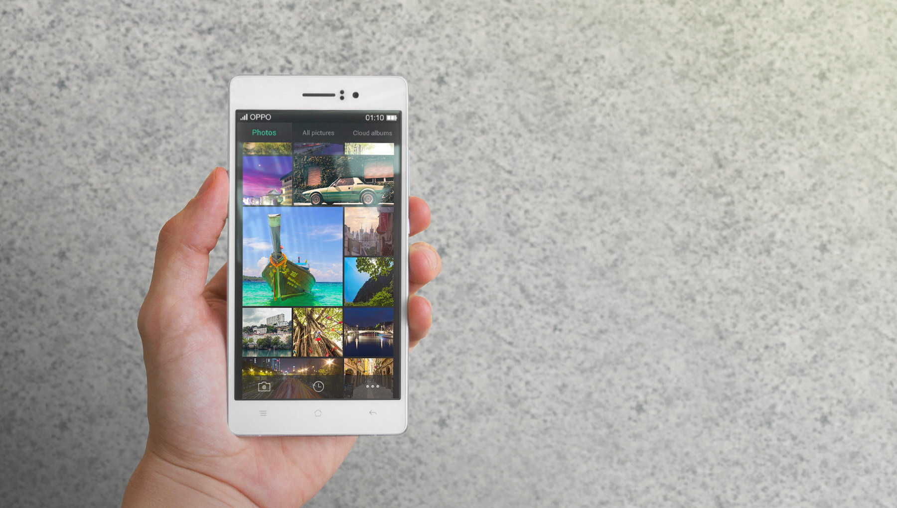 OPPO R5, the thinnest phone in the world