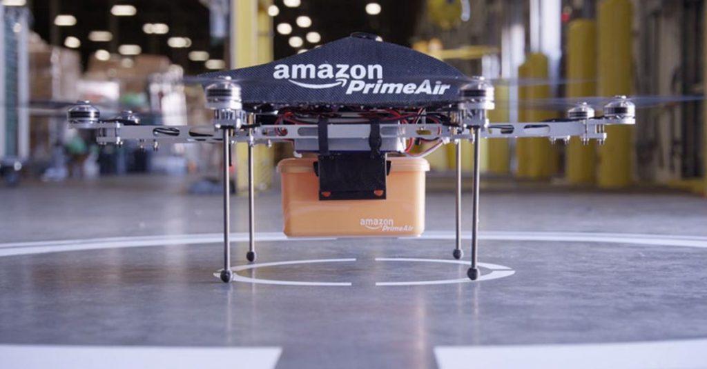 Highly awaited Amazon Drone