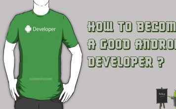 Become A good Android DEveloper