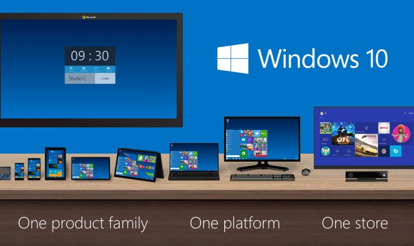 Windows 10 in all devices