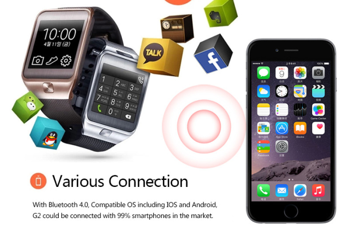 NO.1 G2 Bluetooth Smartwatch features
