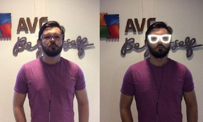 avg invisibility glasses