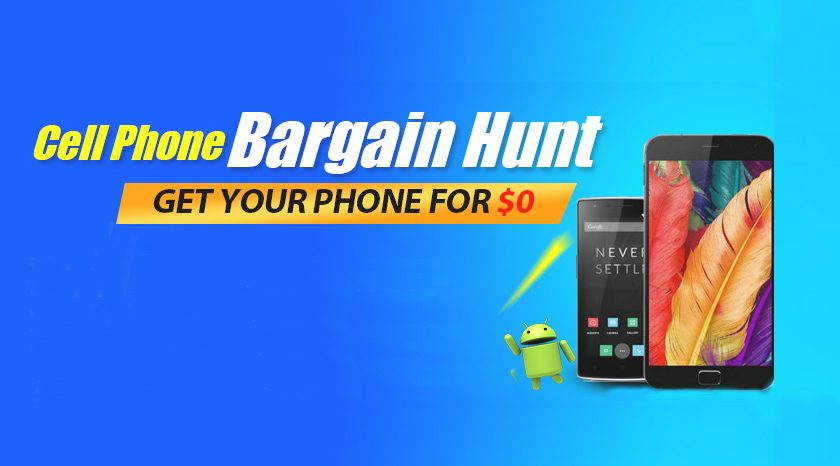 Cell Phone Bargain Hunt