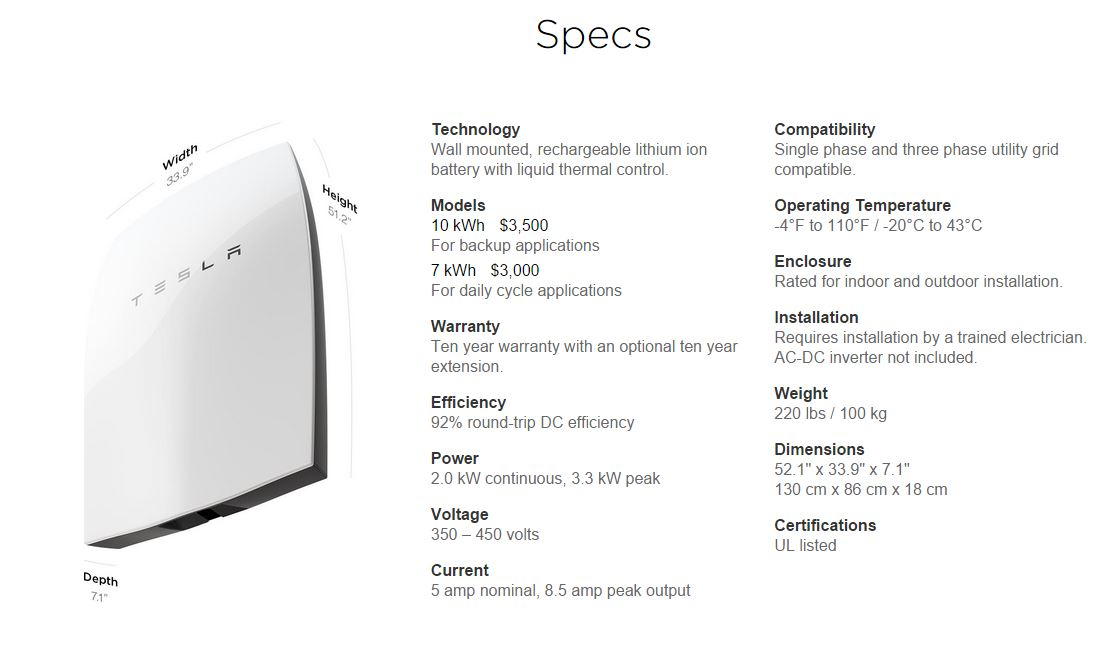 Tesla-Wall-Battery-Specs