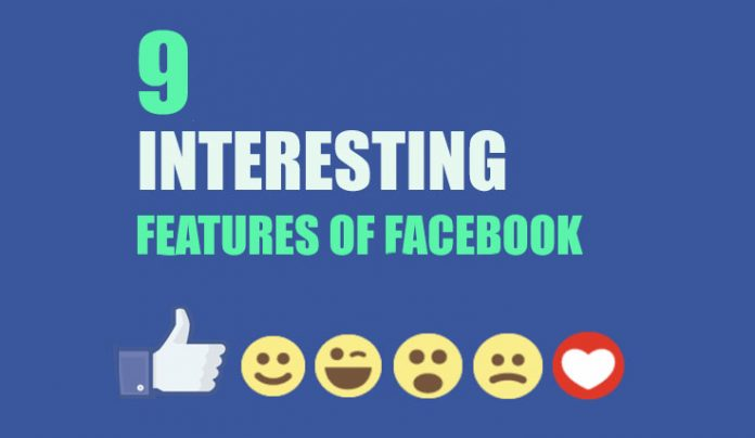Interesting features of facebook