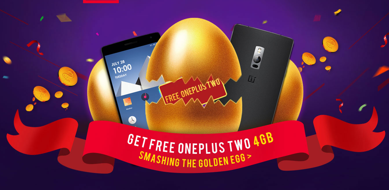 Smashing The Golden Eggs to get free OnePlus 2 4GB