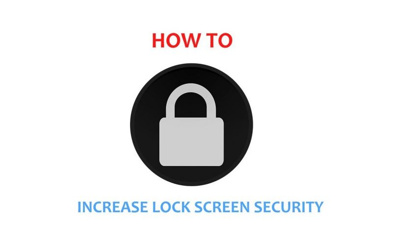 lock screen security_