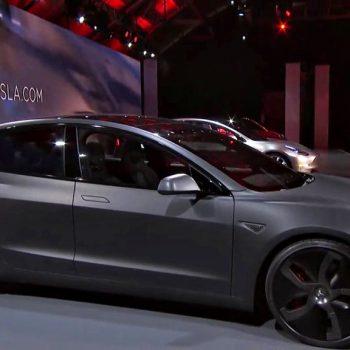 TESLA Electric car model 3