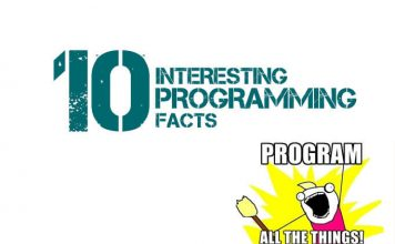 interesting programming facts