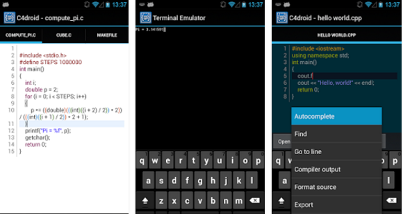 C4Droid - C Compiler for Android