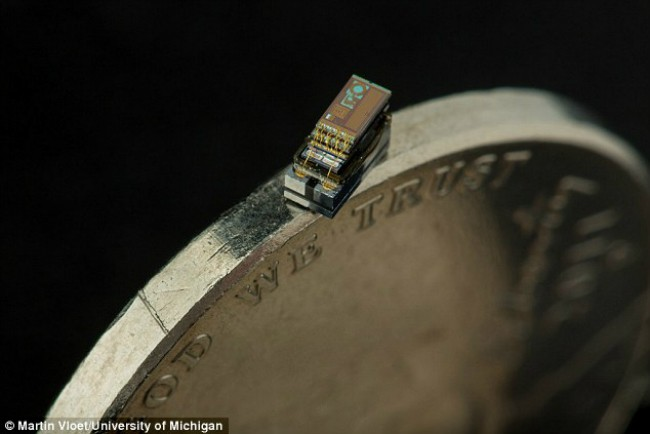 Micro Mote - The smallest computer in the world