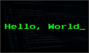 hello world -2