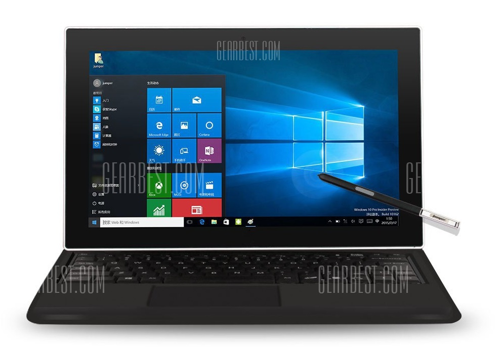 Jumper ezpad 5se affordable windows tablet pc for Affordable windows
