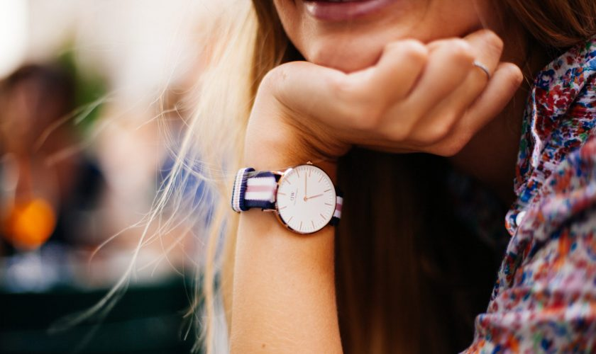 Woman hand with a watch http://barnimages.com/
