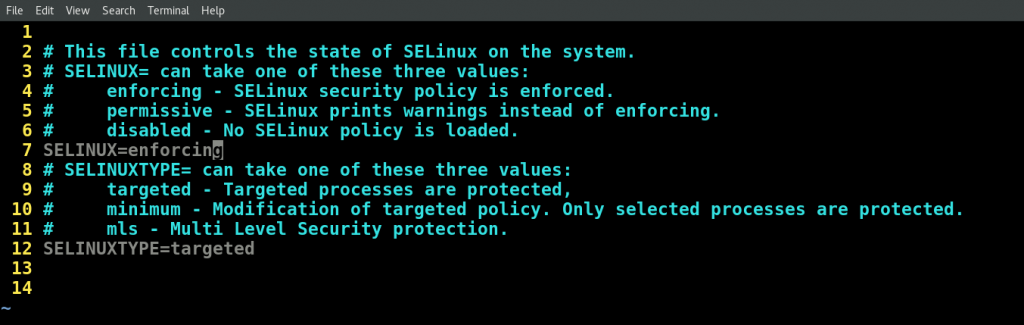 Selinux Enforce