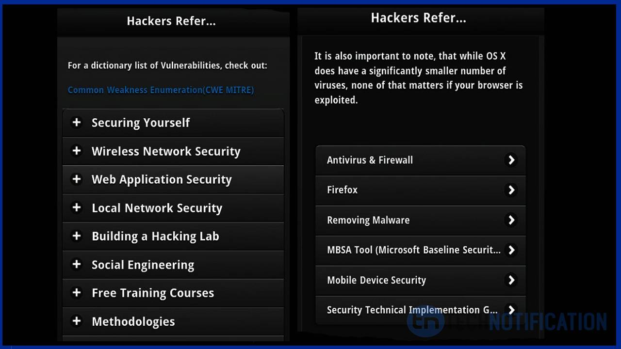 Top 5 Best Android Apps To Learn Hacking From Your Phone