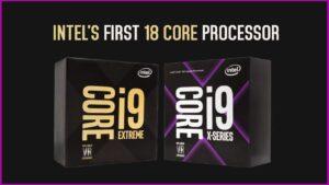 Intel Core i9 Extreme X series