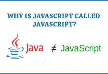 Why is JavaScript called JavaScript