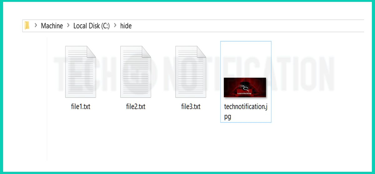 Folder to hide - Hide Files inside Image-compressed