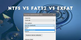NTFS, FAT32, and exFAT File System-compressed