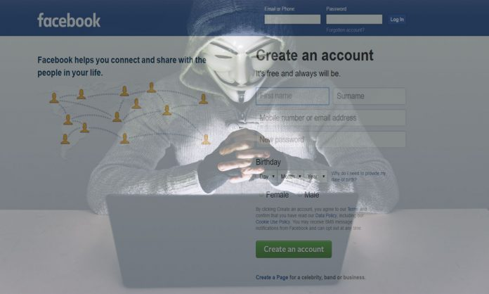 hacking Facebook account