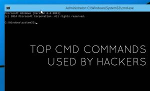 CMD Commands used in Hacking