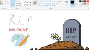 RIP Ms-PAINT