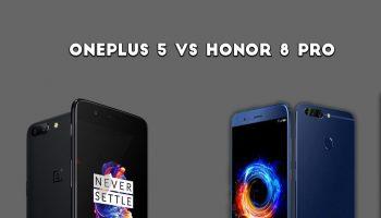 oneplus 5 vs honor 8 pro