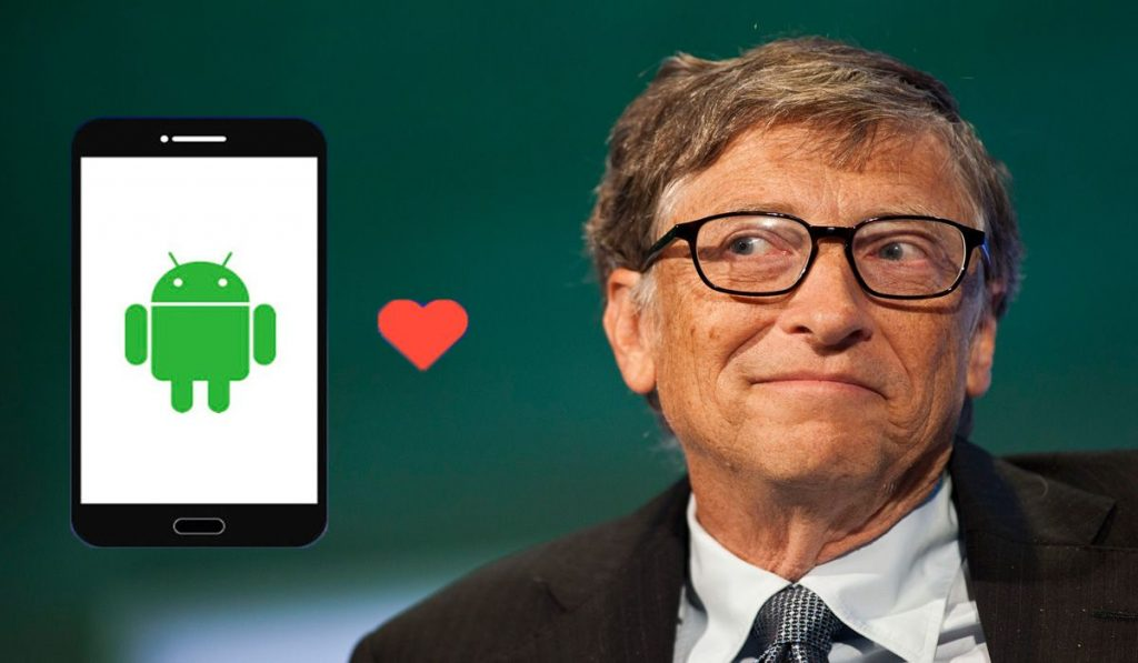 Bill gates switching to android-compressed