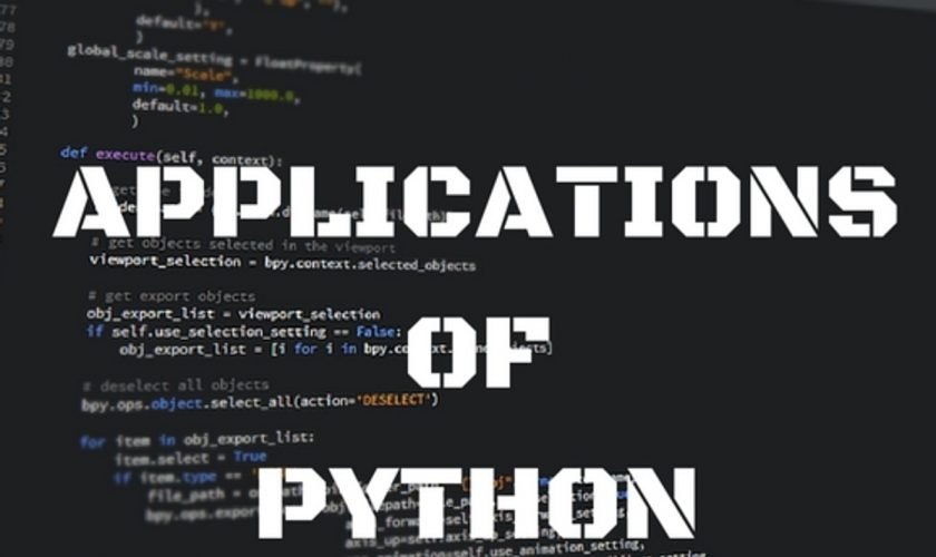 APPLICATIONS-OF-PYTHON-6 o