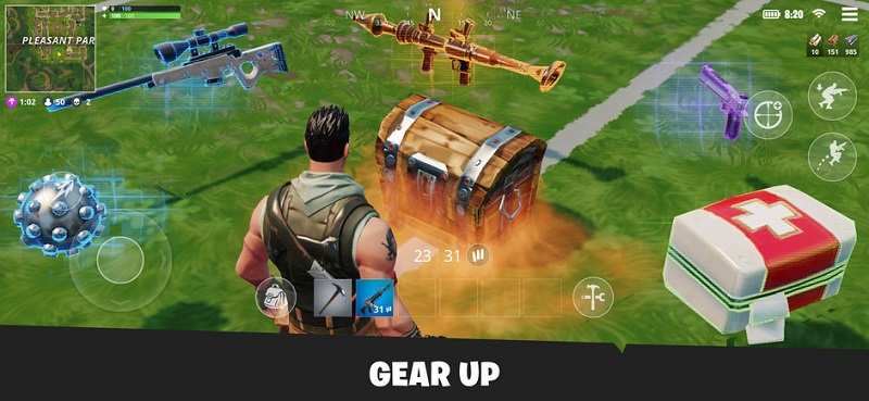 Fortnite mobile photo