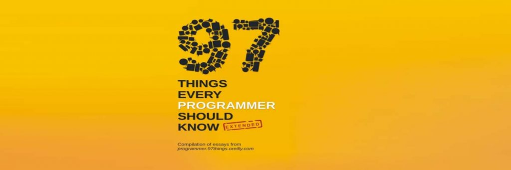 97-things-every-programmer-should-know