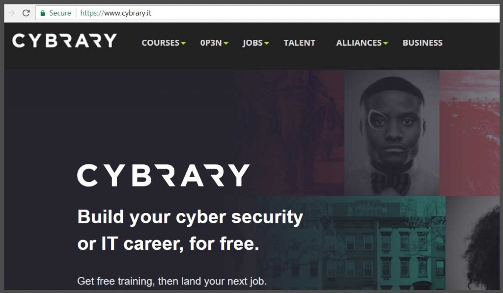 Cybrary- Best Website to learn ethical hacking