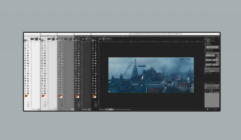 Gimp best open source Photo editing tool free