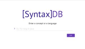 syntax DB