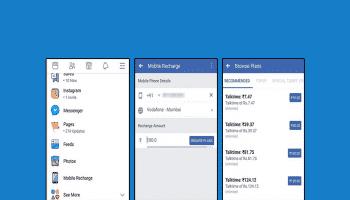 Facebook recharge india
